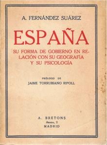 Álvaro Fernández Suárez, «España» (1930)