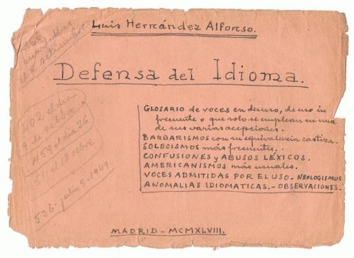 Imagen del blog Defensa del Idioma