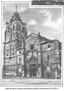 Ante nosotros se alza una hermosa iglesia, enteramente de piedra...