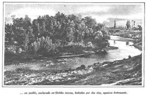 ...un pueblo, enclavado en fértiles tierras, bañadas por dos ríos, agoniza lentamente.