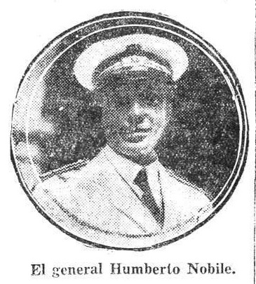 El general HUmberto Nobile.