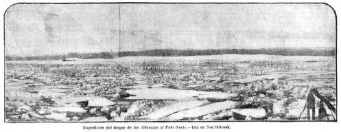 Expedición del duque de los Abruzzos al Polo Norte.— Isla de Northbrook.