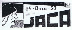 NUESTRA ÉPOCA-19311212_14-Dicbre-30 Jaca_titular